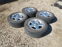 Michelin Defender LT285/60R20 Tires & Rims