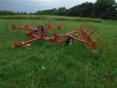 Tonutti RSC10 10 Wheel Rake