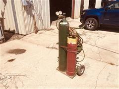 Oxygen & Acetylene Torch