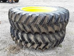 Firestone 18.4-42 Tires & Rims