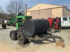 John Deere 4D80 Power Unit W/Trailer & Fuel Tank