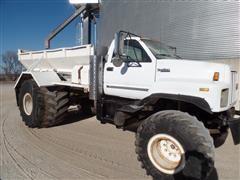 1990 GMC Topkick Lime Spreader/Bulk Ag Materials Truck