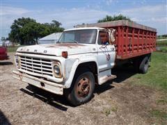 1976 Ford F600 S/A Grain Truck