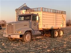 1989 Freightliner FLD120 T/A Grain Truck
