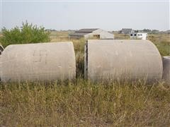 4' X 7.5' Elliptical Reinforced Concrete Pipe Sections