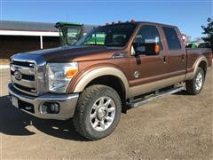 2011 Ford F250 Lariat Super Duty 4x4 Crew Cab Pickup