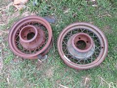 Ford Model A Car Wheels