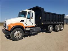 2004 Mack Granite CV713 Tri/A Dump Truck