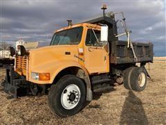 1997 International 4900 S/A Dump Truck