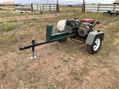 Shop Built Hydraulic Log Splitter