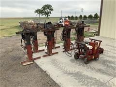 Bainter Hydraulic Grain Bin Jacks W/Power Pack