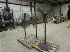 "Chicago Electric & AutumAire High Speed 30"" Pedistal Fans"