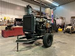 Isuzu 6BG1T Power Unit On Cart