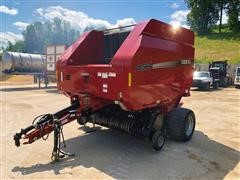 2008 Case IH RB564 Round Baler With Mesh Wrap