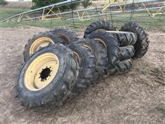 T-L 11.2-24 & 11R 24 Tires W/Rims