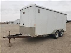 2012 Carry-On Trailers 7X16CGOPT T/A Enclosed Trailer