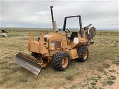 "2000 Case 660 6'X6"" Trencher"