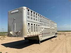 1997 Wilson PSDCL-302 T/A Livestock Trailer