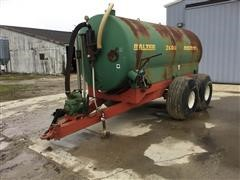1996 Balzer 2600 Magnum Honey Wagon/ Liquid Manure Spreader