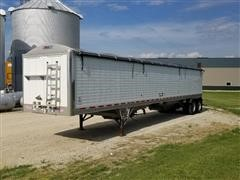 2013 Wilson DWH-550 T/A Hopper Grain Trailer