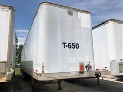 1986 Great Dane 771TL T/A Enclosed Trailer