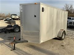 2017 Tiger 4808LC S/A Enclosed Trailer