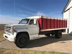 1974 GMC 6000 S/A Grain Truck