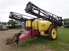 Demco Conquest 1000-Gal Pull-Type Sprayer W/90' Booms
