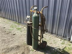 Oxygen And Acetylene Torch