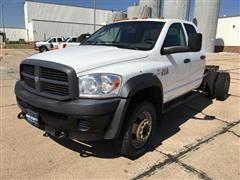 2009 Dodge Ram 5500 Heavy Duty 4x4 Quad Cab and Chassis