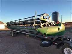 2011 John Deere 635D Hydra Float Draper Header