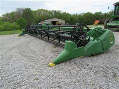 2004 John Deere 630F Hydraflex Platform Header