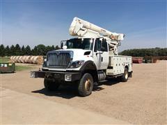 2011 International 7400 SFA 4x4 Bucket Truck