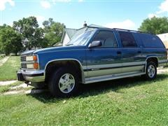 1993 Chevrolet K1500 Silverado 4x4 Suburban