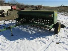 John Deere 8200 Grain Drill W/Grass Seed Attachment