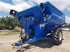 2007 J&M 875-18 Grain Cart