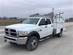 2012 Ram 4500 HD Crew Cab Service Truck