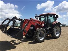 2012 Case IH Maxxum 140 MFWD Tractor W/Loader