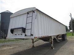 2001 Construction Trailer Specialist Harvest Master T/A Hopper Bottom Grain Trailer