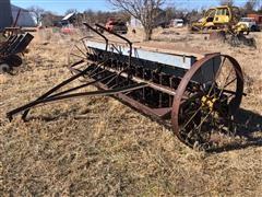 Minneapolis Moline Antique R3-8 Steel Wheeled Drill