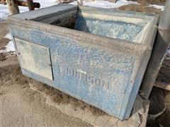 Johnson Concrete Water Tank
