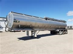 2007 CEI Pacer AT35L Tri/A Dry Bulk Feed Trailer
