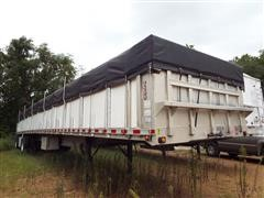 1999 Ravens Fleet Hawk Aluminum Flatbed Trailer