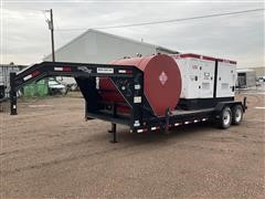 2010 Load Max MMG125 125KW Generator & T/A Trailer