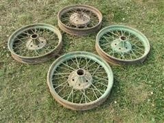 Ford Model T Wire Wheels