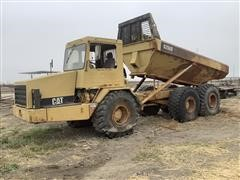 Caterpillar D250D 6x6 Articulated Dump Truck (INOPERABLE)