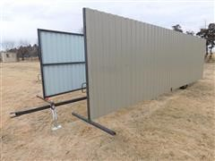 Shop Built Portable Livestock Wind Break
