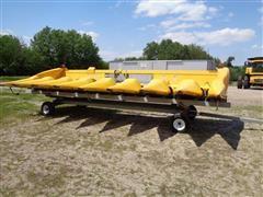 """2012 New Holland 98D 8R30"""" Corn Header W/Header Cart"""
