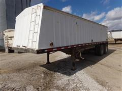 1998 Neville Hopper Bottom T/A Grain Trailer