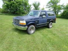 1993 Ford Bronco XLT 4x4 SUV